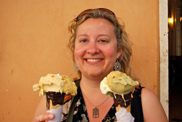 Roman gelato!
