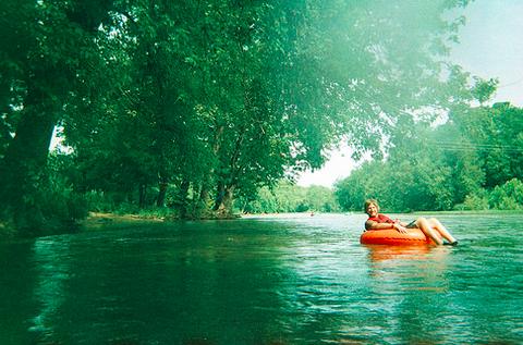 Tubing the Shenandoah River, 2013