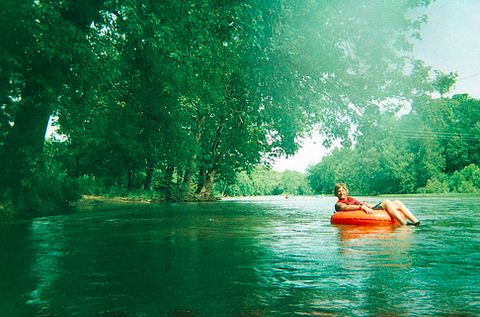 Tubing the Shenandoah River, 2013