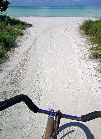 Biking Isla Holbox, Mexico, 2011