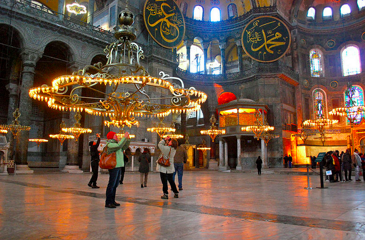 The Blue Mosque, Istanbul, 2012