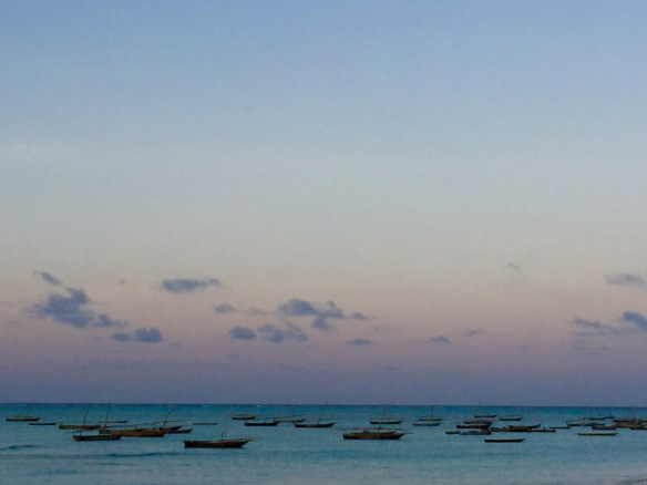 Zanzibar is famous for its dhows, a traditional fishing boat.