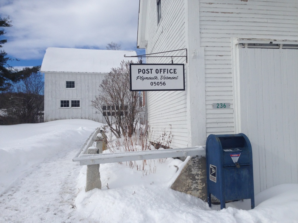 post offices, vermont